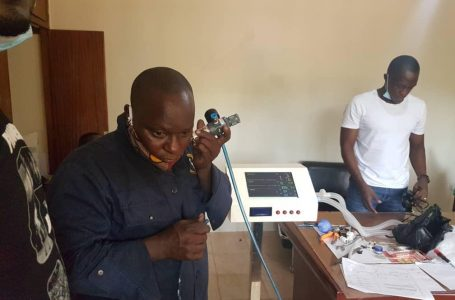 Update about Production of the Low Cost Ventilator in Uganda