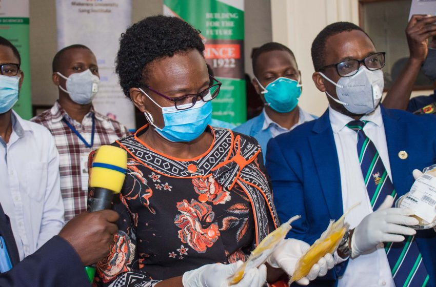 Launch of the Convalescent Plasma Investigational New Drug and CCP Trial at Makerere University