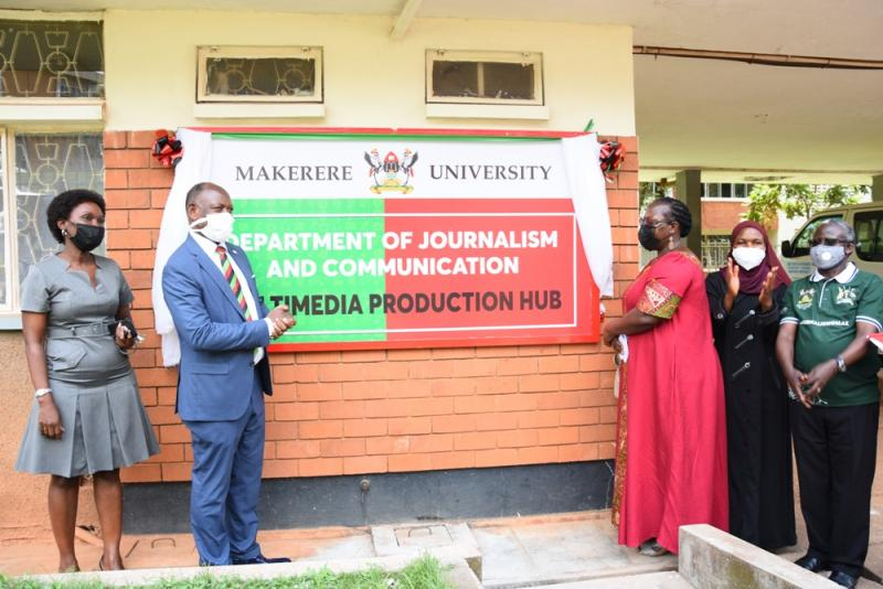Makerere launches Multimedia Production Hub to Improve Research Dissemination